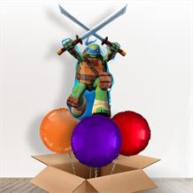 TMN Turtles Leonard Giant Shaped Balloon in a Box Gift