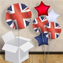 "Great Britain | Union Jack 18"" Balloon in a Box"