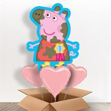 Peppa Pig Giant Shaped Balloon in a Box Gift