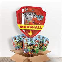 Paw Patrol Chase and Marshall Giant Shaped Balloon in a Box Gift