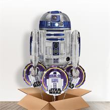 R2D2 | Star Wars Giant Shaped Balloon in a Box Gift