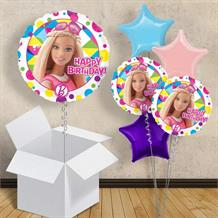 "Barbie Happy Birthday 18"" Balloon in a Box"
