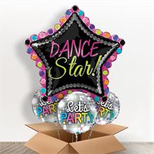 Dance Star Giant Shaped Balloon in a Box Gift