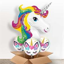 Unicorn Giant Shaped Balloon in a Box Gift