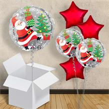 "Santa | Penguin | Snowman | Christmas 18"" Balloon in a Box"