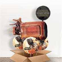 Star Wars | Rey's Speeder Giant Shaped Balloon in a Box Gift
