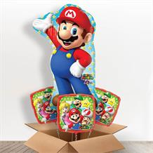 Super Mario Giant Shaped Balloon in a Box Gift