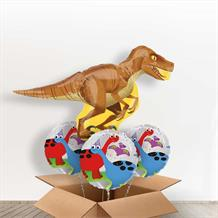 Raptor | Dinosaur Giant Shaped Balloon in a Box Gift