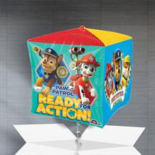 "Paw Patrol 15"" Cube Balloon in a Box"