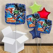 "Justice League Happy Birthday 18"" Balloon in a Box"