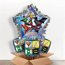 Justice League Giant Shaped Balloon in a Box Gift