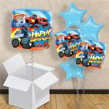 "Blaze and the Monster Machines Happy Birthday 18"" Balloon in a Box"