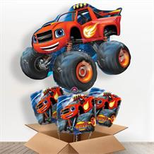 Blaze and the Monster Machines Giant Shaped Balloon in a Box Gift