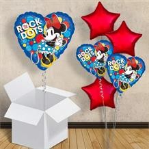"Minnie Mouse Rock the Dots 18"" Balloon in a Box"