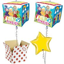 "Teletubbies Group 15"" Cube Balloon in a Box"