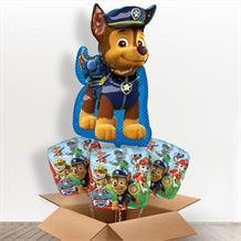 Paw Patrol Chase Giant Shaped Balloon in a Box Gift