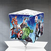 "Marvel Avengers 15"" Cube Balloon in a Box"