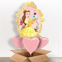 Disney Princess Belle Giant Shaped Balloon in a Box Gift