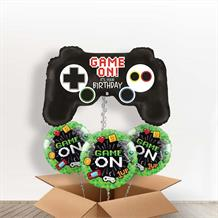 Game Controller Giant Shaped Balloon in a Box Gift