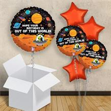 "Space Out of This World 18"" Balloon in a Box"