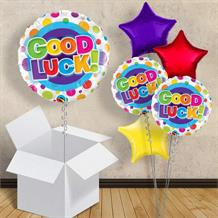 "Good Luck Dots 18"" Balloon in a Box"