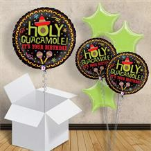 "Holy Guacamole Birthday 18"" Balloon in a Box"