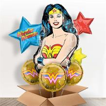 Wonder Woman Giant Shaped Balloon in a Box Gift