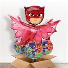 PJ Masks Owlette Giant Shaped Balloon in a Box Gift