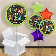 "Trick or Treat | Halloween 18"" Balloon in a Box"