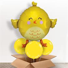 Easter Chick Giant Shaped Balloon in a Box Gift
