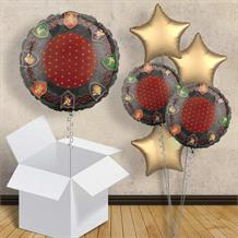 "Medieval Thrones 18"" Balloon in a Box Gift"