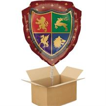 Medieval Thrones Giant Shield Balloon in a Box Gift