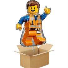 Emmet Lego Movie 2 Giant Shaped Balloon in a Box Gift