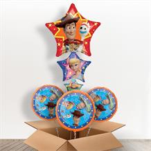 Toy Story 4 Woody | Forky | Buzz | Bo Peep Giant Shaped Balloon in a Box Gift