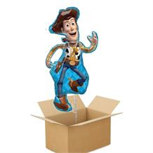 Toy Story 4 Woody Giant Shaped Balloon in a Box Gift