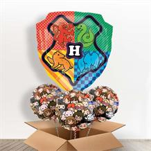 Harry Potter Hogwarts Shaped Foil Balloon in a Box