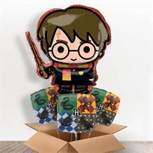 Harry Potter Shaped Foil Balloon in a Box