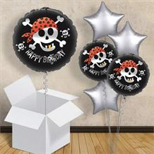 "Pirate Ahoy Happy Birthday 18"" Balloon in a Box"