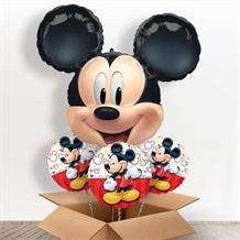 Mickey Mouse Giant Head Balloon in a Box Gift