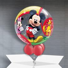 "Mickey Mouse and Friends 22"" Bubble Balloon in a Box"