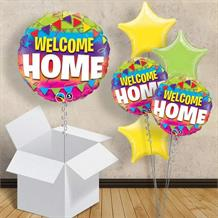 "Welcome Home 18"" Balloon in a Box"