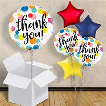 "Thank You Dots 18"" Balloon in a Box"