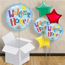 "Welcome Home Sunshine 18"" Balloon in a Box"