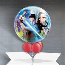 "Star Wars Ep8 22"" Bubble Balloon in a Box"