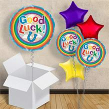 "Good Luck Horse Shoe 18"" Balloon in a Box"