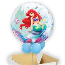 "Ariel the Little Mermaid 22"" Bubble Balloon in a Box"