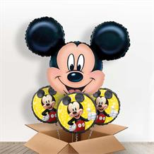 Mickey Mouse Head Giant Shaped Balloon in a Box Gift