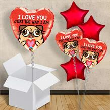 "I Love You Pug | Puppy 18"" Balloon in a Box"