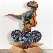 Jurassic World Fallen Kingdom Raptor Giant Shaped Balloon in a Box Gift