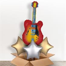 Electric Guitar Giant Balloon in a Box Gift